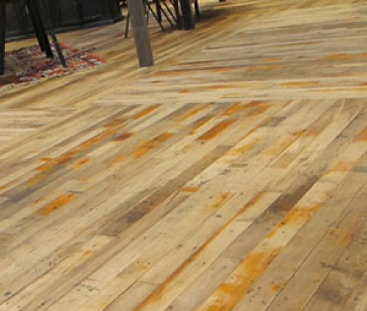 Top Reclaimed Maple Floor IB18