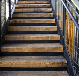 Captivating Stair Treads From Factory Timbers